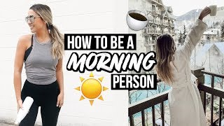 HOW TO BECOME A MORNING PERSON 2019! ALEX GARZA