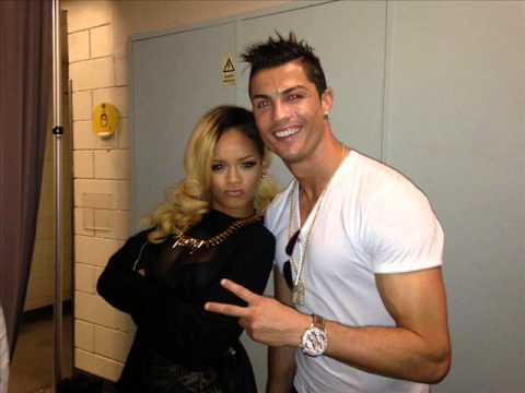 Ronaldo meets pop icon  Rihanna HD Images