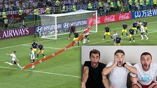 REAZIONE ai *MIGLIORI* GOL del MONDIALE RUSSIA 2018!!! W/ Fius Gamer & Ohm