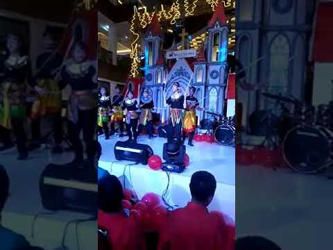 Siswa-Siswi SLB C1 YPAC Semarang, Tari Kreasi Ampar-Ampar Pisang,