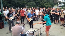 Best Witches At The Logan Square Monument 8.2.14