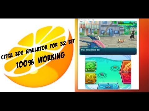 citra 3ds emulator free download 32 bit