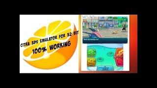 Citra Emulator for 32-Bit Windows PC -Working-!!!