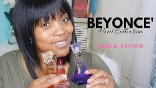 Blind Buys #1: BEYONCE HEAT Collection Part 1 | Perfume Haul Reviews