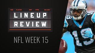 DraftKings Lineup Review - NFL Week 15 Millionaire Maker Winner