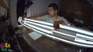 Светодиодный светильник «Сделано в РОССИИ»