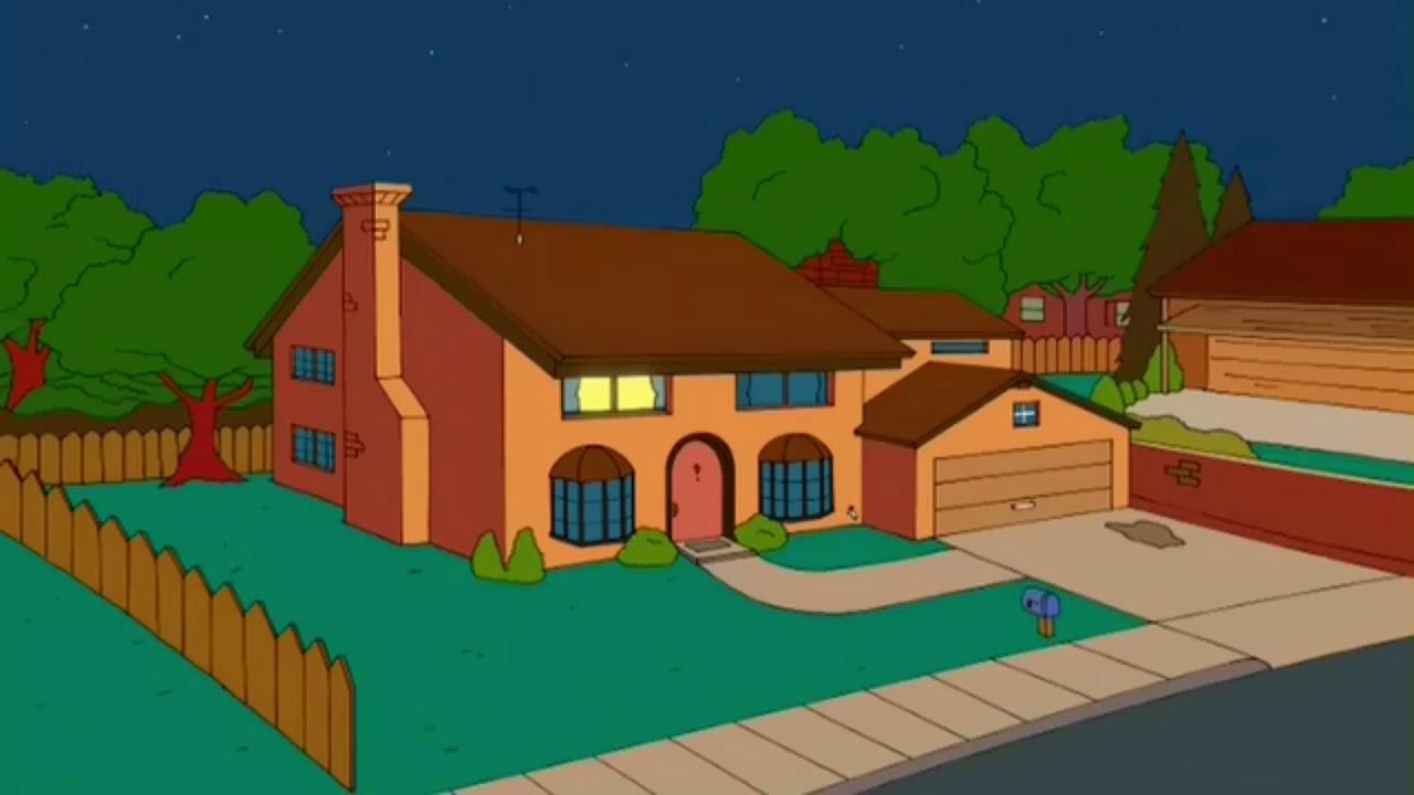 Картинка симпсоны дом