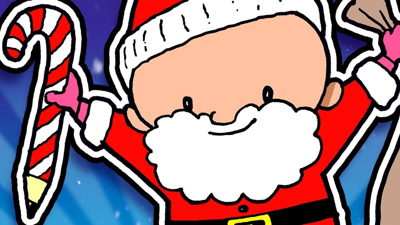 Lille-Øisteins jul #2- Lær å tegne julenissen, snøprinsesse og julefest | Øisteins Juleblyant