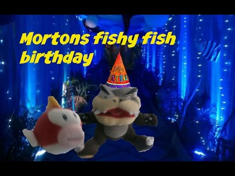 Mortons fishy fish birthday (SMR Long)