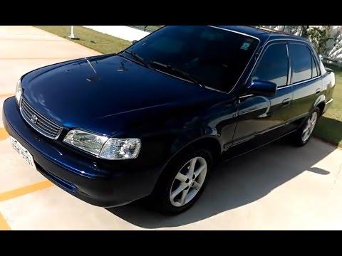 Toyota Corolla Xei 1999 Detalhes Youtube