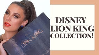 DISNEY THE LION KING COLLECTION + SWATCHES! | Sir John x Luminess Cosmetics | Victoria Lyn