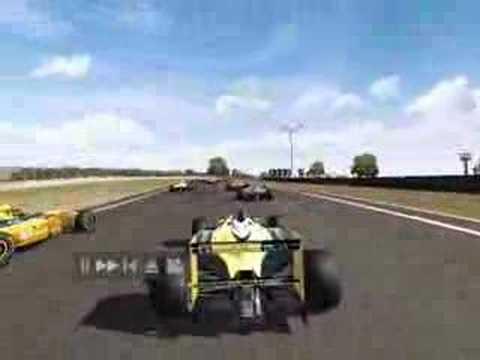 Formula Palmer Audi Crash - Toca Race Driver 3