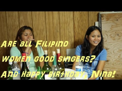 Birthday celebration on Kauai, Hawaii | Filipino women singing karaoke| Hawaii Life