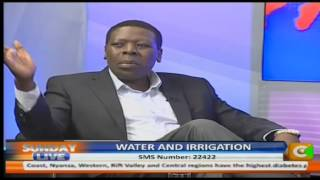 Sunday Live interview with Eugene Wamalwa CS, Water and Irrigation