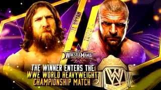 WrestleMania 30 (XXX) Theme - Monster (Daniel Bryan vs. Triple H)
