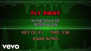 Peter Allen - Fly Away (Karaoke)