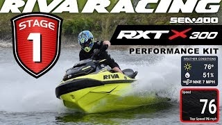 RIVA Sea-Doo RXT-X/GTX LTD 300 2018+ Stage 1 Kit