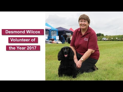 Hearing Dogs - Desmond Wilcox Volunteer of the Year 2017