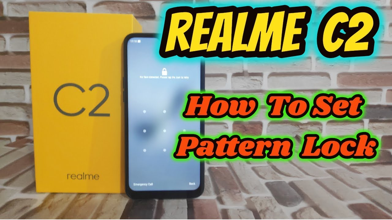 [Hindi] How To Set Pattern Lock In Realme C2 Or Any Other Realme & Oppo  Phone
