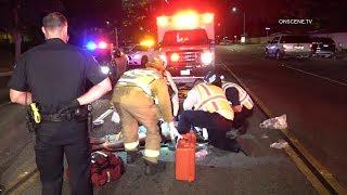Pedestrian Critically Injured After Being Struck By Unlicensed Driver In Anaheim