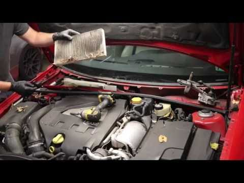SAAB 9-3 Sport Sedan AC Evaporator Replacement DIY '03-'11