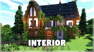 Minecraft: How to Build a Tavern/Inn Interior Tutorial