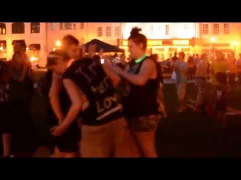 #E4EWausau - DJ Ski and the Harlem Shake at the 400 Block