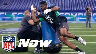 Top 3 Freak Athletes in the NFL Draft | NFL Now