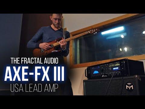 Fractal Audio Axe-Fx III - USA Lead (Based on Mesa/Boogie MK IV) Demo