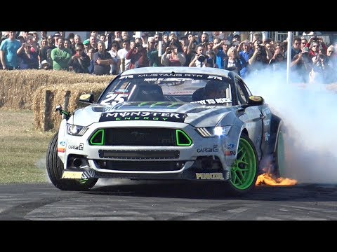Vaughn Gittin Jr.'s 900HP Ford Mustang RTR MONSTER! - INSANE Sounds & Show @ Goodwood!