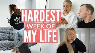 HARDEST WEEK OF MY LIFE | Moving Into Our Apartment | I Can't Breathe