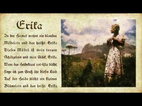 Erika  1930  Hi Fi...not Nazi...OK?!