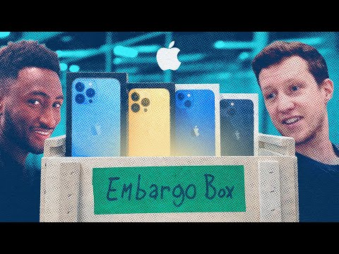 iPhone 13 Unboxing & Reactions!
