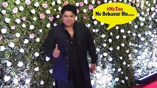 Sajid Khan Makes His First Public Appearance After #MeToo Allegation Against Him