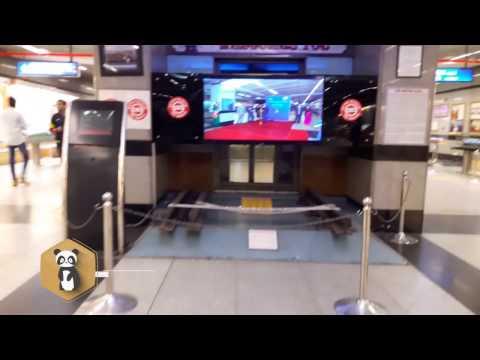 Mini Metro Museum at Patel Chowk   New Delhi   India- SMPD Emergency