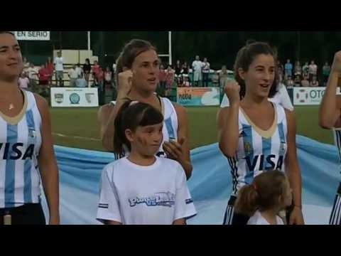 Desafío Leonas vs Pumas 2012 - El momento más emotivo - El Himno - EXCLUSIVO - Hockey Delivery