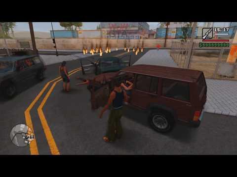 Мод на Графику GTA San Andreas 2020