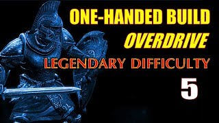 Skyrim Walkthrough 1H Build Overdrive #5, Getting Disarming Bash + Punching Out a Priestess