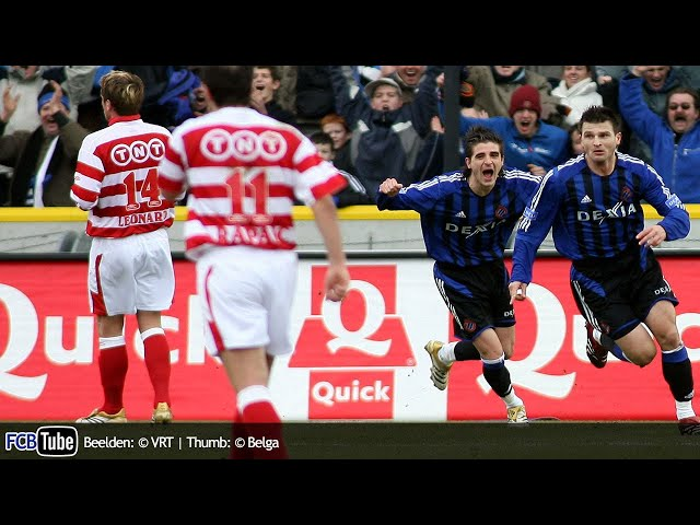 2005-2006 - Jupiler Pro League - 24. Club Brugge - Standard 1-1