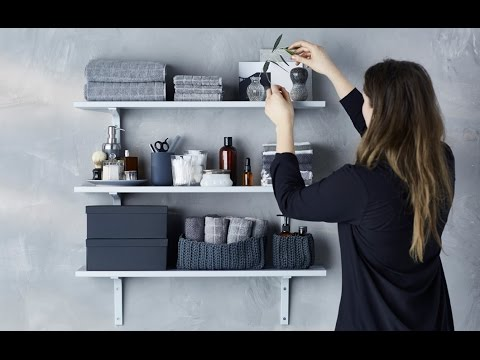 Secrets of a stylist: The bathroom shelf display