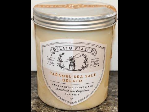 Gelato Fiasco: Caramel Sea Salt Gelato Review