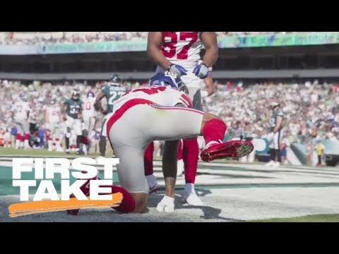 Stephen A. Smith on Odell Beckham Jr.: 'I'm getting sick of him' | First Take | ESPN