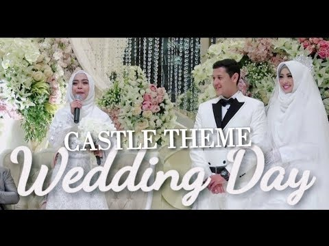 WEDDING DAY! CASTLE THEME #AKAD #PART1 - dr. Arif & dr. Shindy Putri  #13