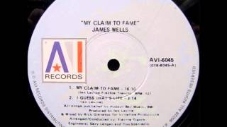 "James wells - My claim to fame (1978) 12"" vinyl"