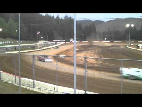 Late model heat 2 coos bay speedway 5/7/2016