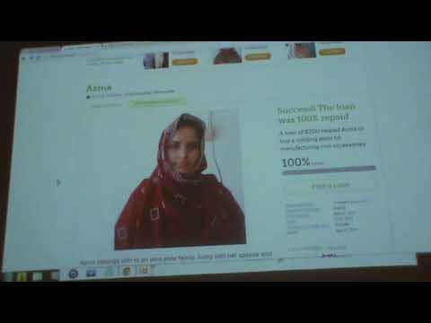 Microfinance and Microlending in the Developing World on Kiva.org