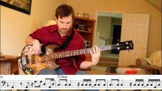 Marvin Gaye - Mercy Mercy Me (Bob Babbitt) - Bass Transcription
