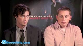 Interview - Benjamin Walker and Seth Grahame-Smith on 'Abraham Lincoln: Vampire Hunter'