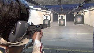 実弾射撃 トンプソン M1A1 短機関銃 (Thompson M1A1 Shooting)