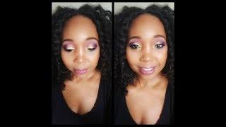 GRWM Caribbean festival makeup look